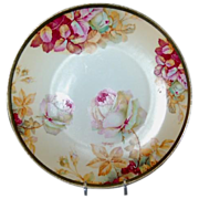 1900 - 1910 Beautiful Austria Plate w/ Roses