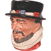 Royal Doulton Beefeater Large Character Jug D 6206
