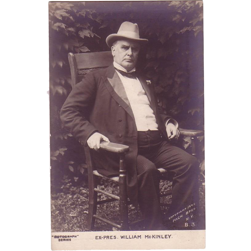 "RPPC "" Past President William McKinley"""
