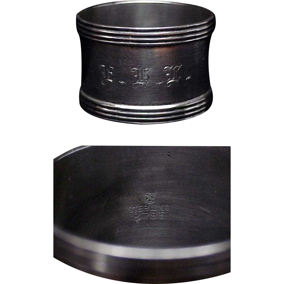 Sterling Silver napkin ring #1
