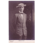RPPC Arnold Daly Controversial Actor