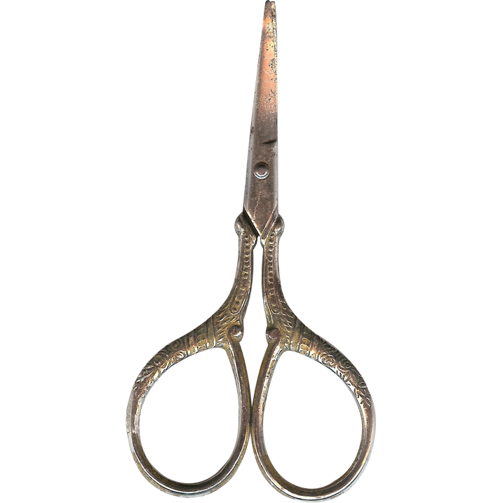 1920's Germany Cuticle / Embroidery Small Scissors