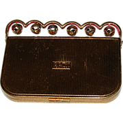 "Coty New York Jazzy ""Jingle Bells"" Novelty Compact"