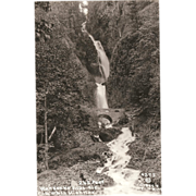 "RPPC ""Wahkeena Falls Ore."" Columbia Highway Oregon"