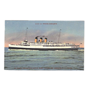 "Postcard ""Steamship CPR SS Princess Marguerite"""