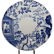 "Royal Crown Derby 6 & 1/8"" Bread & Butter Plate ( Blue Mikado Pattern)"