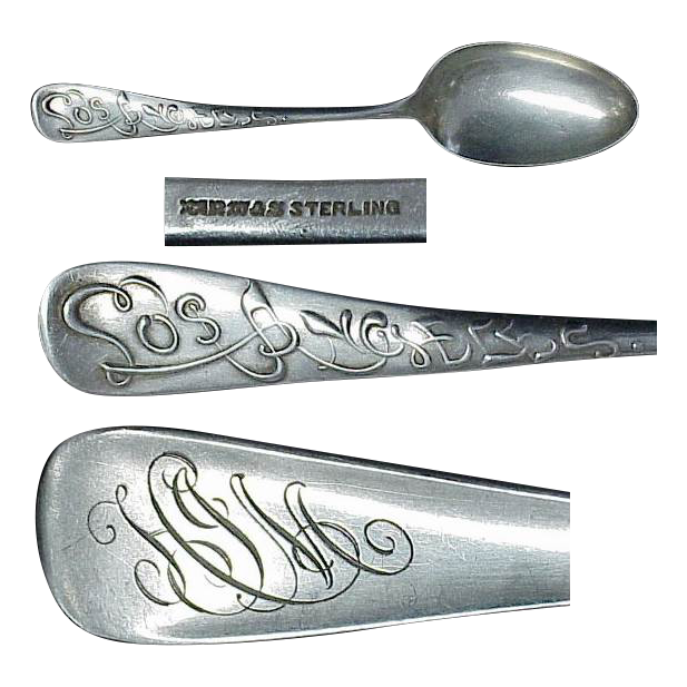 Sterling Souvenir spoon of Los Angeles