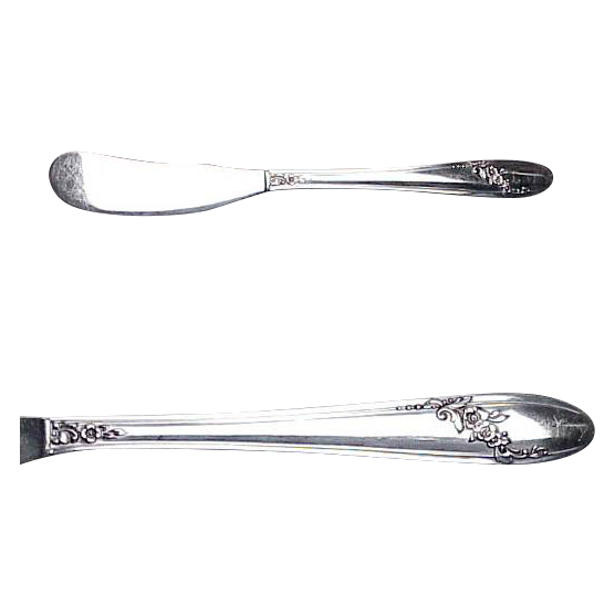 Queen Bess Silverplated  ( 6) Individual Butter Spreaders