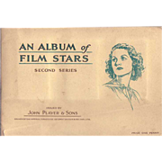 1930's Player's Navy Cut Cards of Film Player's Album