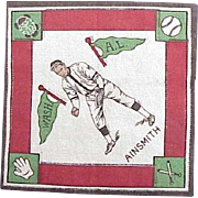 "1914 "" Eddie Ainsmith "" Baseball Player Felt"