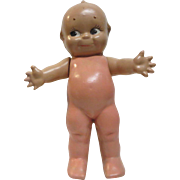 """1944 Cameo Doll Co 11"""" Jointed Composition Kewpie w/ Starfish Hands"""
