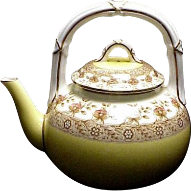 Superb Antique 1892 Royal Worcester Teapot