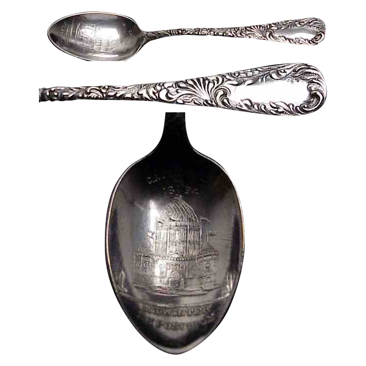 Souvenir Spoon of the California Mid-Winter Exposition