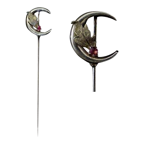 Crescent Stickpin