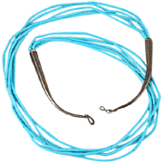 Lovely silver and Indian Turquoise necklace