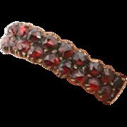 Delicate Victorian Garnet ring
