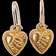 Sweet heart earrings