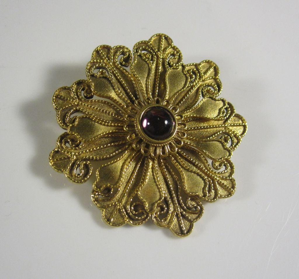 Vintage MMA Metropolitan Museum of Art Brooch Pin Pendant