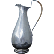 Modernist Mid-Century Finnish 813 Silver Pitcher Decanter Finland 1954