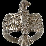 Vintage 925 Sterling Silver Eagle Ring