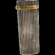 Vintage Cartier Silver Plated & Sapphire Lighter Paris France