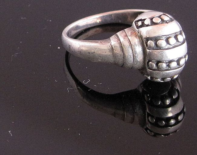 Vintage Sterling Silver Ring