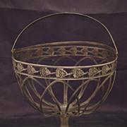 Antique Silver Basket, Berlin, Germany Late XVIII c., Early XIX c.