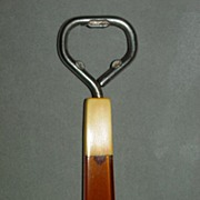 Rare Two Toned Bakelite Bottle Opener - Vintage