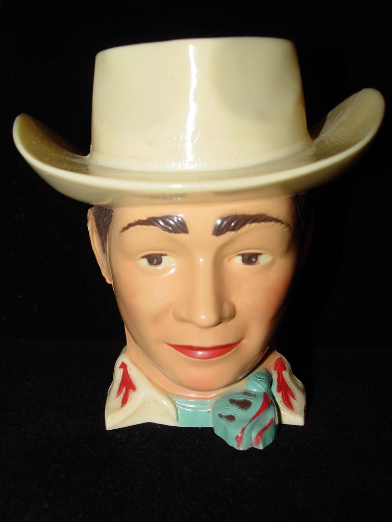 Vintage Roy Rogers Mug - The King of The Cowboys