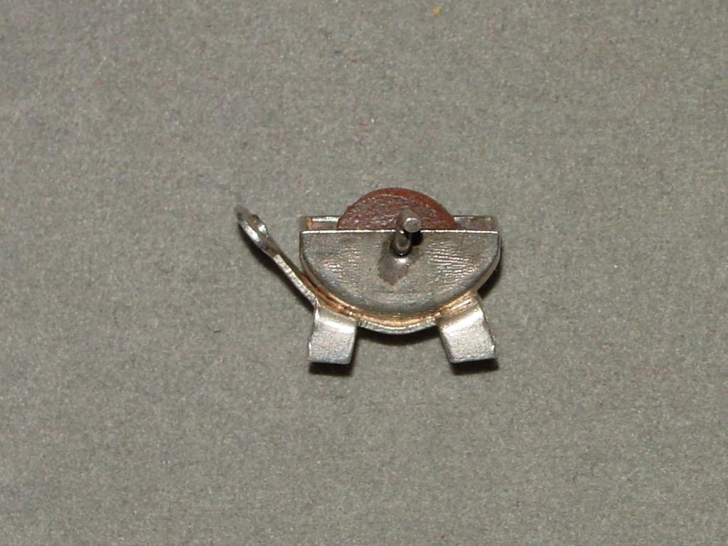 Vintage Sterling Silver Mechanical Charm Grindstone