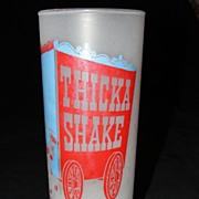 Frosted Glass Thicka Shake Tumbler