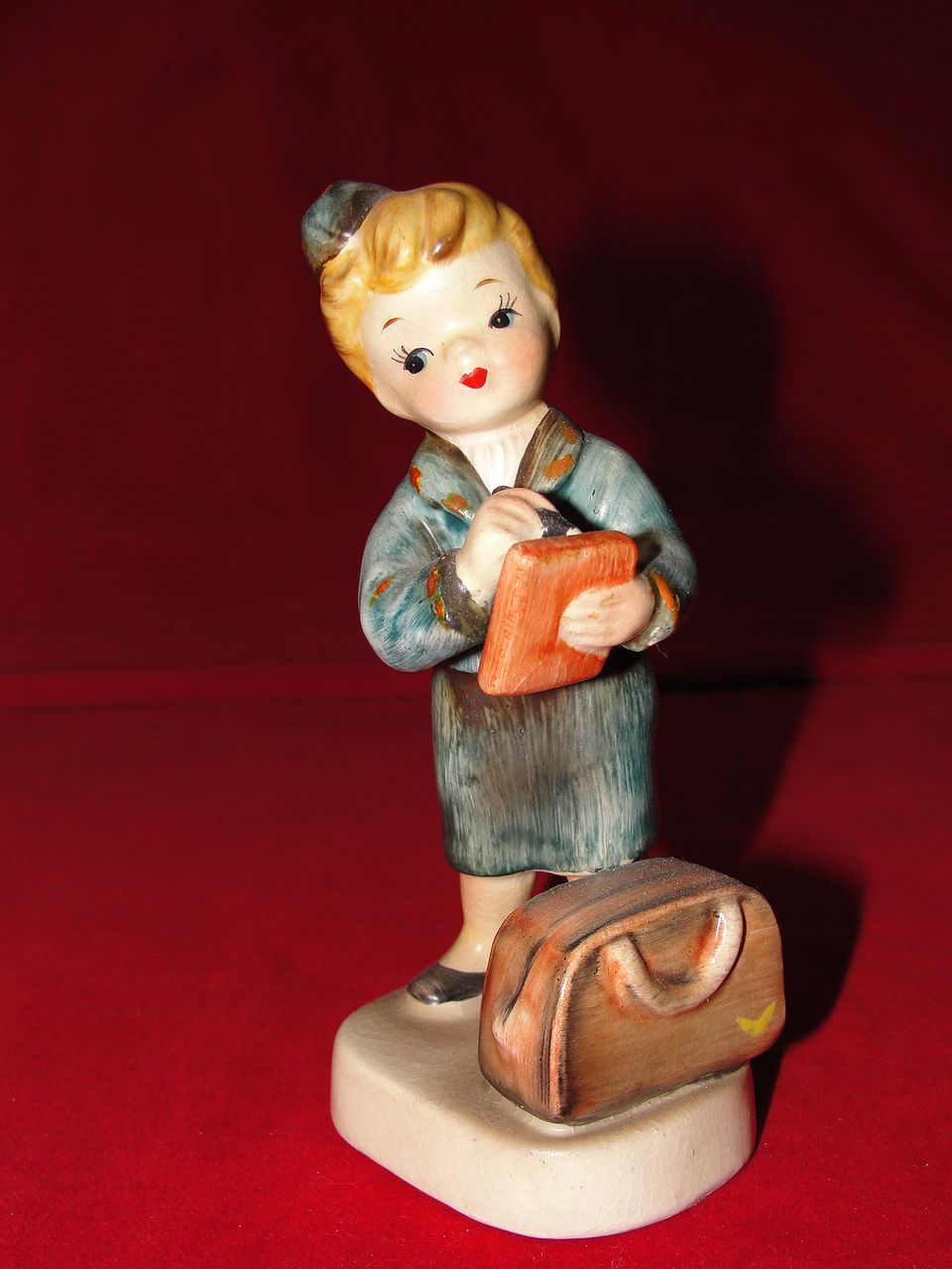 Lefton 1957 Stewardess Ceramic Figurine