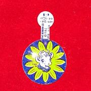 Vintage Elsie the Cow Borden Pin