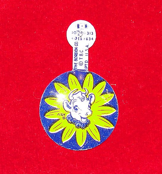 Vintage Elsie the Cow Borden Pin