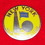 1939 New York World's Fair Pin