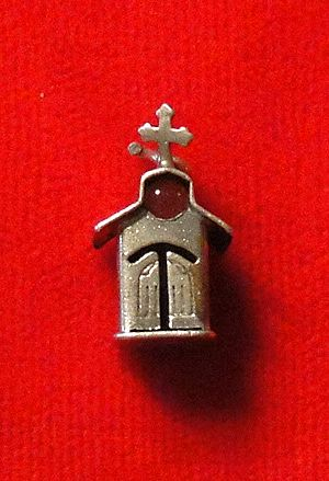 Vintage Sterling Silver Stanhope Church Charm