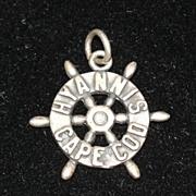 Rare Sterling Silver Hyannis Cape Cod Charm for Ella Cone