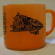 Valley Railroad Company Federal Glass Coffee Mug