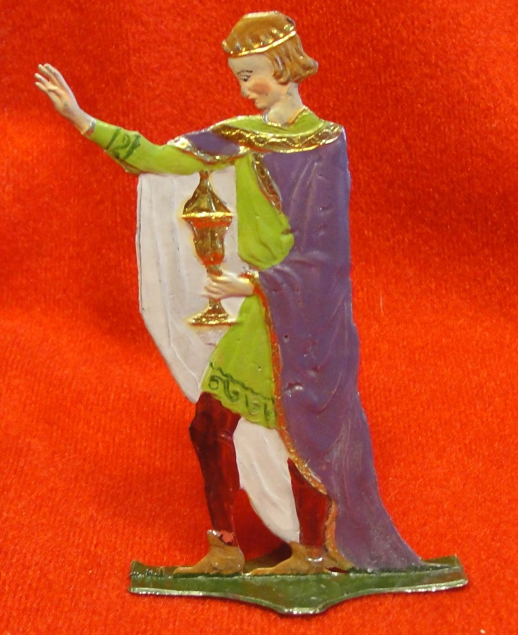 German Lead Flat Wise Man Nativity King