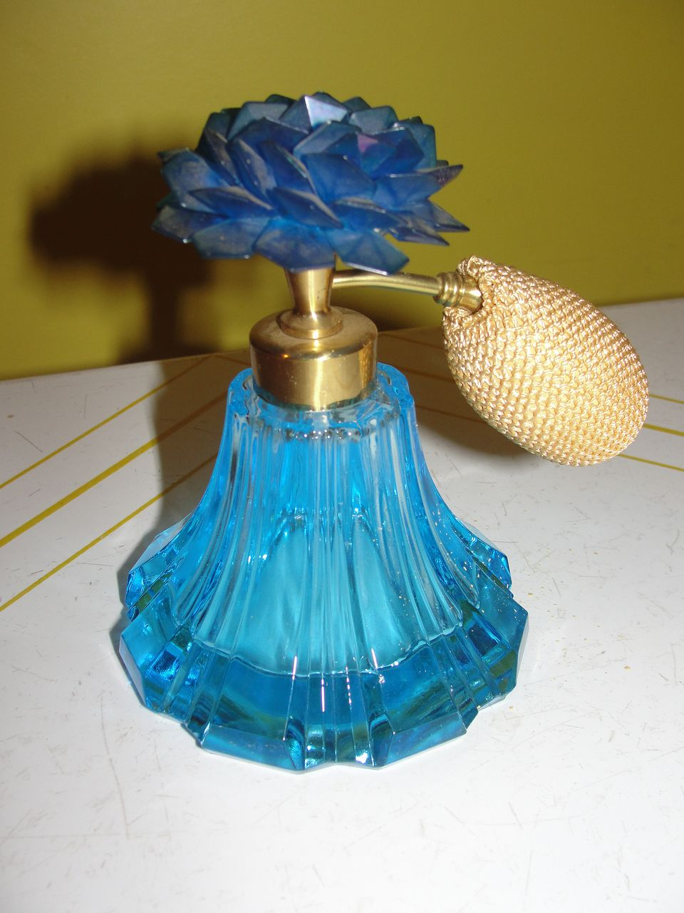 Blue Roses perfume Atomizer - b25