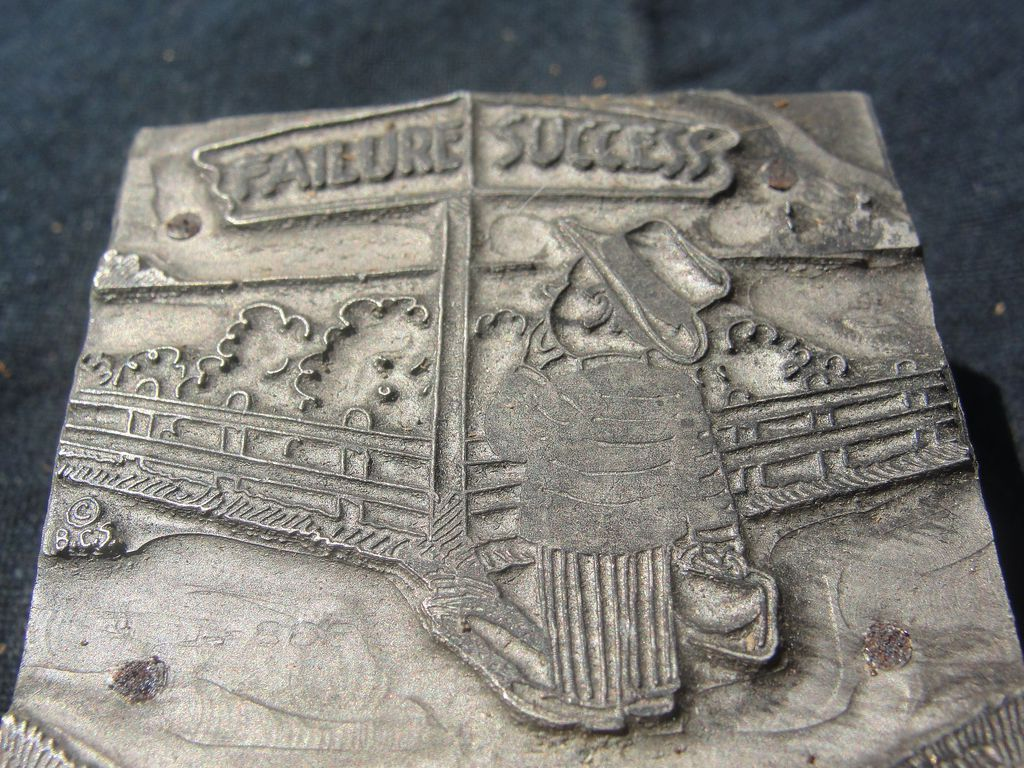 Printing block #28 Success and Failure  - Free shipping