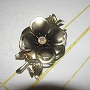 Golden Rose Pin - Free Shipping