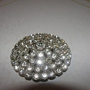 Round and Round Rhinestone Scarf Clip - Free Shipping