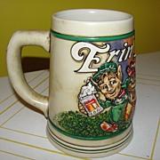 Erin Go Bud 1992 St. Patrick's Day Stein - b29