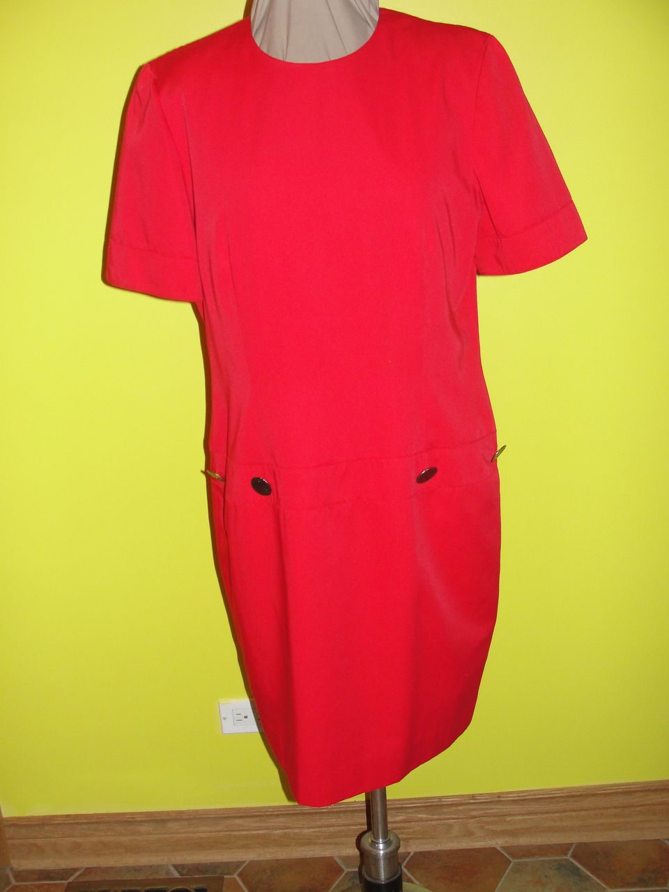 Rah Rah Red Skimmer Dress