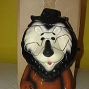 Lefton Hubert the Harris Lion Cookie Jar