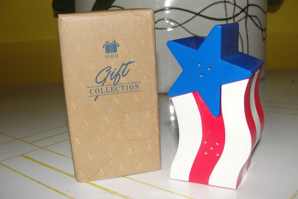 Avon Star Spangles Salt and Pepper Shaker