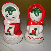 Miss Muff Snow-ladies Salt and Pepper shakers