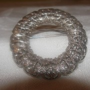 Fancy Filigree Brooch - Free Shipping