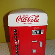 Enesco 1995 Coke Vending machine Cookie Jar